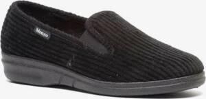 Blenzo heren pantoffels - Zwart - Maat 46