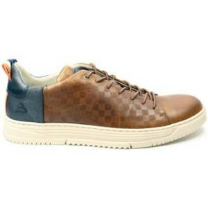 Bullboxer Nette schoenen HEREN lage veterschoen 421K26589F. cognac