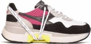 Diadora Sneakers N9000 Txs H Heren Mesh/leer Wit/roze Maat 47