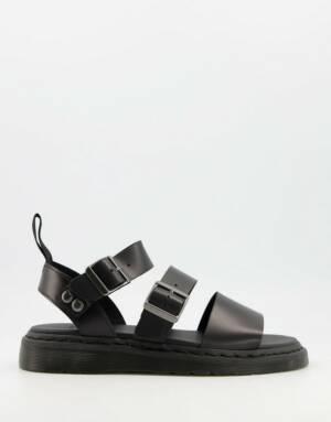 Dr Martens - Gryphon - Sandalen met gespen in zwart
