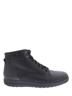 Gijs 2044 205H Zwart H-Wijdte Veter boots