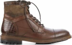 Giuseppe Maurizio Mannen Leren Boots - G3014 - 46