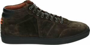 Greve 6680 - Volwassenen Heren sneakersVrije tijd half-hoog - Kleur: Bruin - Maat: 47
