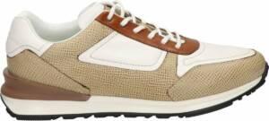 Greve heren sneaker - Beige multi - Maat 47
