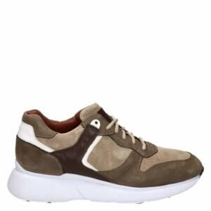 Greve lage sneakers