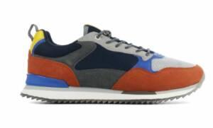 HOFF Heren Sneakers in Leder (Blauw)