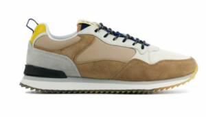 HOFF Heren Sneakers in Suede (Beige)