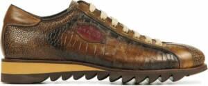Harris Mannen Leren Sneakers - 2817 croco - 47