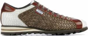 Harris Mannen Leren Sneakers - 2817 vlecht - 47