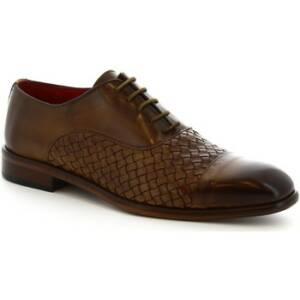Leonardo Shoes Sandalen 188 V.TAN INTRECCIATO