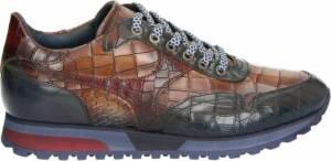 Lorenzi heren sneaker - Cognac - Maat 47