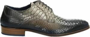 Lorenzi nette heren schoenen - Bruin multi - Maat 46