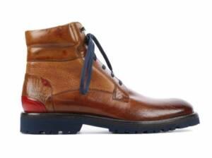 Melvin & Hamilton Heren Boots in Leder (Cognac)