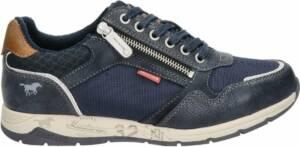 Mustang heren sneaker - Blauw - Maat 47