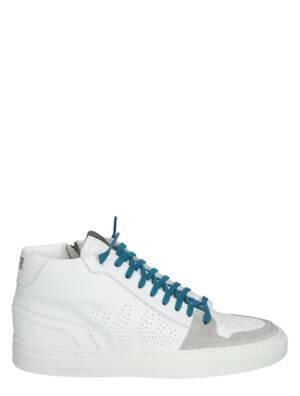 P448 Zac Mid-M White/Lof Sneakers