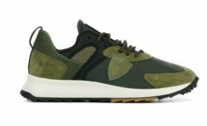 Philippe Model Heren Sneakers (Groen)