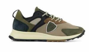Philippe Model Heren Sneakers in Suede (Bruin)