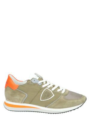 Philippe Model TZLU TRPX Men Vert Lage sneakers
