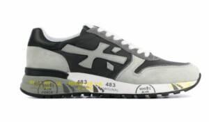 Premiata Heren Sneakers in Suede (Grijs)
