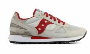Saucony Heren Sneakers in Stof (Beige)