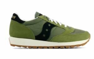 Saucony Heren Sneakers in Stof (Groen)