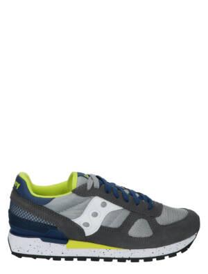 Saucony Shadow Original Grey/Blue/Yellow Lage sneakers