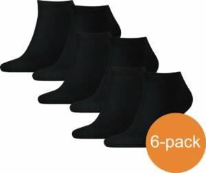 Tommy Hilfiger Sneakersokken Heren - 6 paar - Black - Maat 43/46