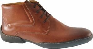 Van Bommel 10928/00 H Veterboots - Cognac- Heren maat 48