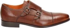 Van Lier heren nette schoen - Cognac - Maat 46,5