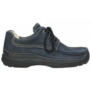 Wolky Nette schoenen 09201 Roll Shoe Men - 11800 blauw nubuck