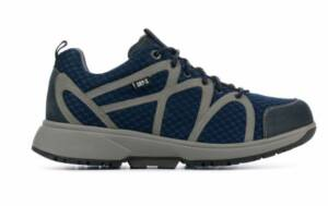 Xsensible Stretchwalker Heren Sneakers in Stof (Blauw)