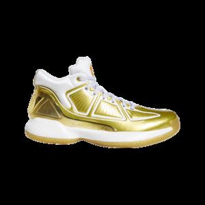 adidas D Rose - Heren Schoenen - Gold - Leer - Maat 48 2/3 - Foot Locker