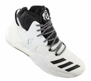 adidas Derrick D Rose 7 B54137 Heren Basketbalschoenen Sportschoenen Sneaker Wit - Maat EU 50 2/3 UK 14.5