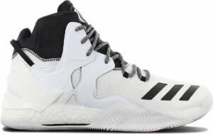 adidas Derrick D Rose 7 B54137 Heren Basketbalschoenen Sportschoenen Sneaker Wit - Maat EU 50 UK 14