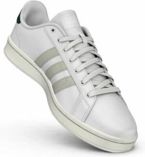 adidas Grand Court sneakers heren wit/groen
