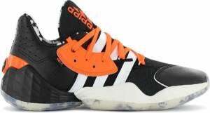 adidas James Harden Vol. 4 ASW x Daniel Patrick - Heren Basketbalschoenen Sport schoenen Sneakers Zwart FV8053 - Maat EU 50 UK 14
