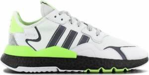 adidas Originals Nite Jogger Boost - Heren Sneakers Sport Casual Schoenen Wit EG6749 - Maat EU 47 1/3 UK 12