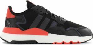 adidas Originals Nite Jogger Boost - Heren Sneakers Sport Casual Schoenen Zwart EG6750 - Maat EU 47 1/3 UK 12