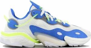 adidas Originals TORSION X Boost - Heren Sneakers Sport Casual Schoenen Wit-Blauw EG0589 - Maat EU 47 1/3 UK 12