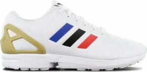 adidas Originals ZX FLUX - Heren Sneakers Sport Casual schoenen Wit FV7918 - Maat EU 48 2/3 UK 13