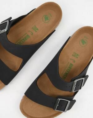 Birkenstock - Vegan Arizona - Sandalen in zwart