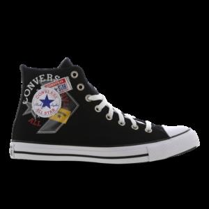 Converse Chuck Taylor All Star High Logo Play - Heren Schoenen - Black - Textil - Maat 48 - Foot Locker