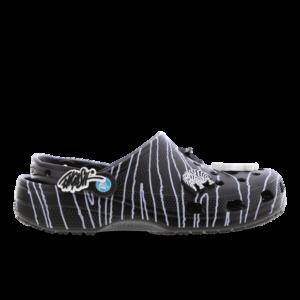 Crocs Clog - Heren Slippers en Sandalen - Black - Leer - Maat 47-48 - Foot Locker