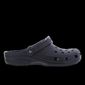 Crocs Clog - Heren Slippers en Sandalen - Blue - Leer - Maat 47-48 - Foot Locker