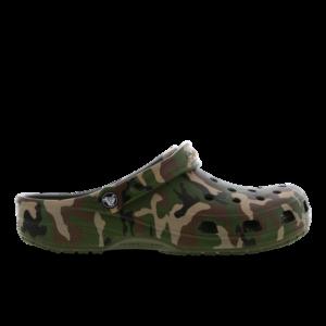 Crocs Clog - Heren Slippers en Sandalen - Green - Leer - Maat 47-48 - Foot Locker