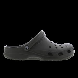 Crocs Clog - Heren Slippers en Sandalen - Grey - Leer - Maat 47-48 - Foot Locker