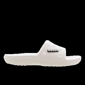 Crocs Slide - Heren Slippers en Sandalen - White - Leer - Maat 46-47 - Foot Locker