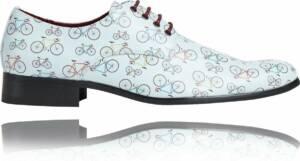 Cyclie - Maat 47 - Lureaux - Kleurrijke Schoenen Voor Heren - Veterschoenen Met Print