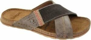 Fischer Kruisband heren slipper & muil 0801 - Bruin 74 - 46