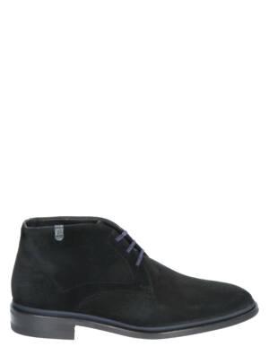 Floris van Bommel 10067 15 Black Veter boots